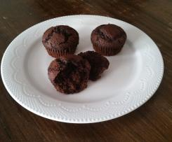 Chocolate Strawberry or Cherry Muffins