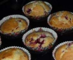 Coconut & Raspberry Muffins