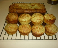 Zucchini, Bacon & Cheese Muffins