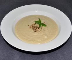 """Paleo """"Potato"""" Leek Soup"""