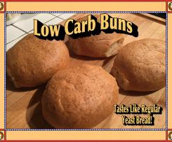 Keto Low Carb Yeast Buns/Bread