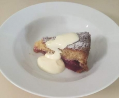 Plum and Vanilla Cake