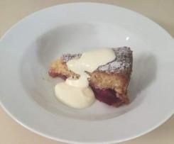 Plum and Vanilla Cake