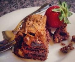 Dark Chocolate Sour Cherry Brownie