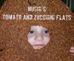 Nushi's Tomato and Zucchini Flavoured Flats