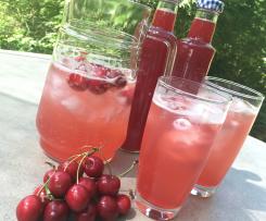 Cherry vanilla cordial
