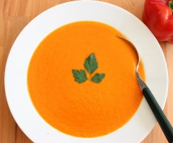 Capsicum and Tomato Soup