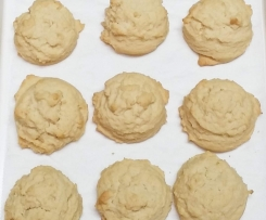 Vanilla Malt Cookies