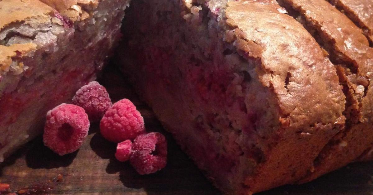 Pear Raspberry Bread Inspired Translated From Fast Ed S Recipe On Better Homes Gardens
