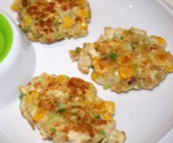 Chicken and Corn Patties - 12months+