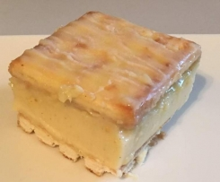 Vanilla Slice - No Bake, No Custard Powder