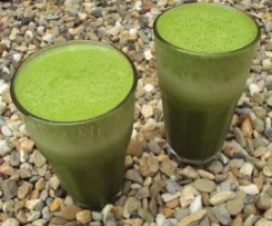 Diddlee Dee Green Smoothie - for St Paddy's Day!