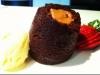 Choc caramel puddings (gluten free)