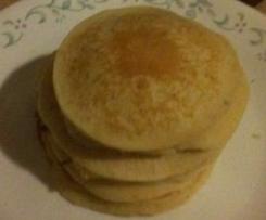 Apple, Oat and Macadamia Pancakes