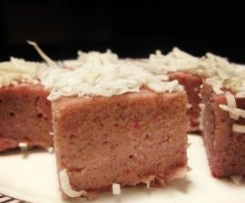 Raw Strawberry Fudge - by Jules Galloway