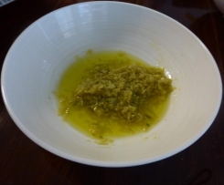 Ginger and Spring Onion Oil Sauce