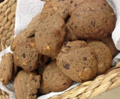 Wattleseed, choc chip, macadamia cookies