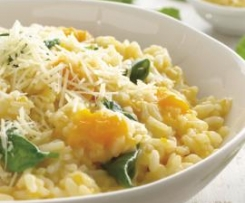 Clone of Spinach and Pumpkin Risotto - 321 Cals