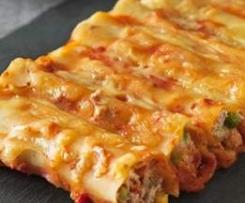 CazzBar Cafe Tuna & Sour Cream Cannelloni