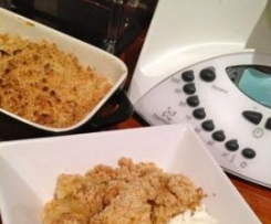 Quick and Easy Gluten Free Apple Crumble