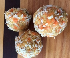 Carrot and Ginger Energy Balls