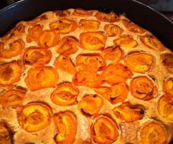 Baked Peach Torte