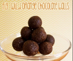 Fig Wild Orange Chocolate Balls