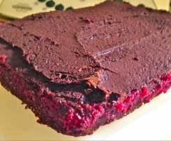 Chocolate Beetroot Fudge Slice