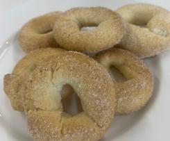 """Italian Wine """"Donuts"""" - (Ciambelline al Vino)"""