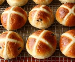 Heavenly Hot Cross Buns