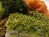 Pesto Salmon with mash and veg