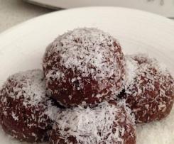 Organic Raw Cacao Bliss Balls