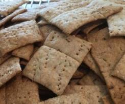 Sourdough Spelt Crackers