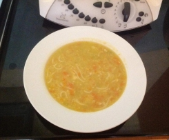 Josh's Chicken and sweet corn noodle Soup