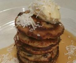 Berry Coconut Flour Pancakes