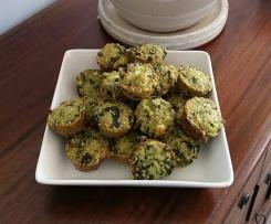 Spinach and Feta Quinoa Bites