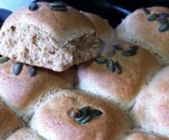Spelt Bread Rolls - Light, vegan and delicious!