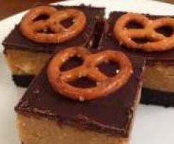 Clone of Choc-Pretzel & Peanut Butter Slice