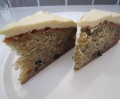 Tash's Banana Cake with Maple Buttercream