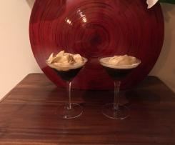 Expresso Martini with Dalgona Coffee whip