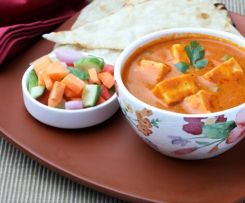 Paneer Masala In Tomato Curry