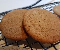 Crisp Ginger Biscuits