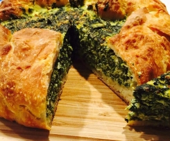 Spinach Sourdough Torta