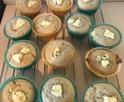 Feijoa & Cream Cheese Muffins