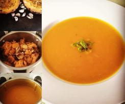 Mel's Roasted Pumpkin Soup