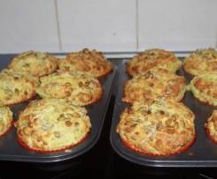 3 Cheese & Vegetable Muffins