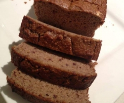Banana Bread (No Gluten, Dairy or Refined Sugar)