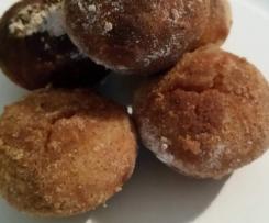 Doughnut muffin balls
