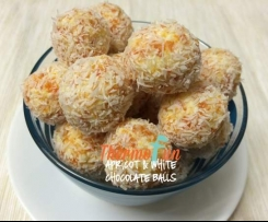 Apricot and White Chocolate Balls - ThermoFun