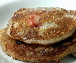 Apple and Strawberry Pancakes